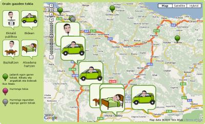 Ibarretxeren GPSa