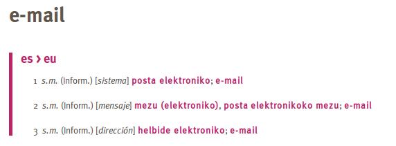 elhuyarren e-mail euskaraz